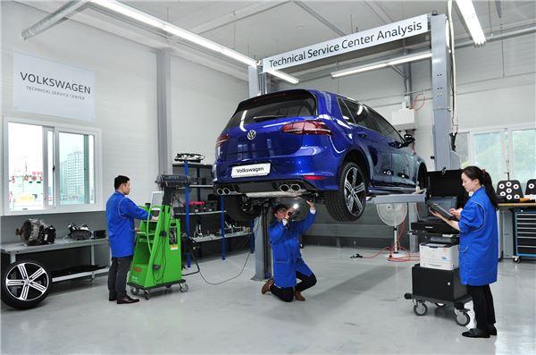 '폭스바겐 테크니컬 센터' 오픈...서비스 향상 핵심사업