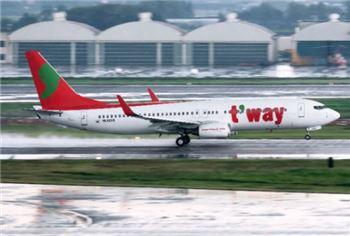 티웨이항공, 내년 1월 성수기 항공권 특가 이벤트…국내선 최저 1만7200원