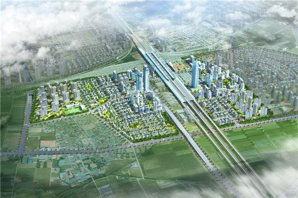 충북 오송역세권지구 개발 급물살