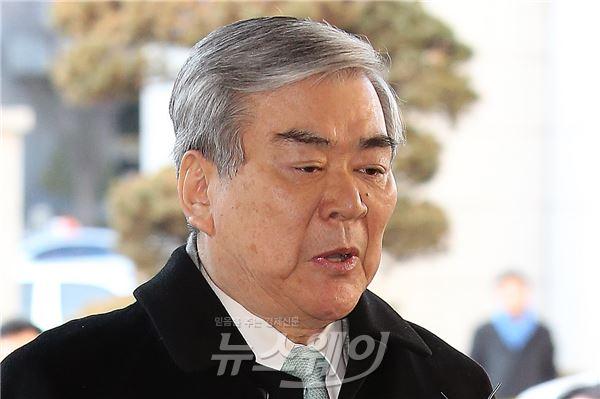 조양호 한진 회장, 檢서 '문희상 청탁' 관련 참고인 조사(종합)