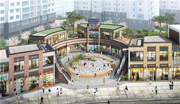 송파 와이즈 더샵 상업시설 9일 공개입찰
