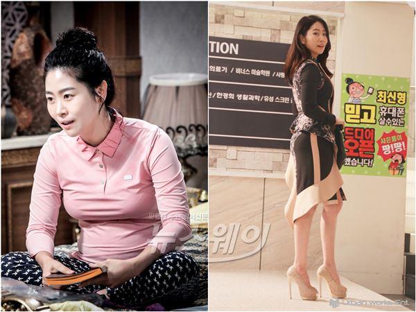 '위대한 조강지처' 김지영, 이혼후 세련녀 변신… 3kg 복대 열연 호평