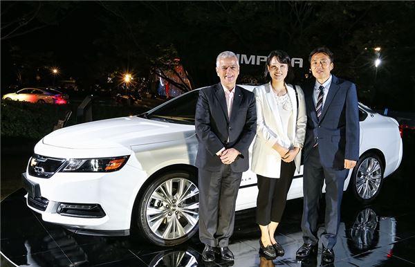 한국지엠 '쉐보레 임팔라' 전국 마케팅 돌입