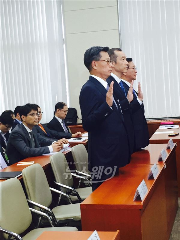 """최치훈 삼성물산 대표 """"국민연금 판단은 전문가 몫"""""""