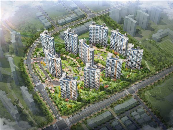 호반건설, 인천 가정지구 5BL 호반베르디움 센트럴 10월 분양