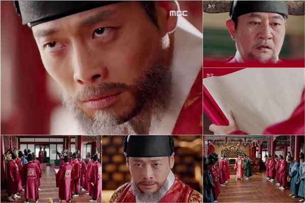 '화정' 김재원, 마지막 왕의 선택…'반전의 백지 교지'에 시청자 소름