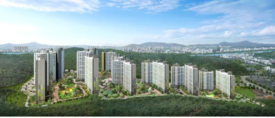 도심속 전원단지…대우건설, '광주 센트럴 푸르지오' 10월 분양