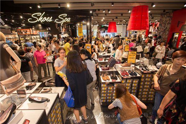 이랜드 슈펜, 중국 상해 1호점 오픈···연내 홍콩까지 진출
