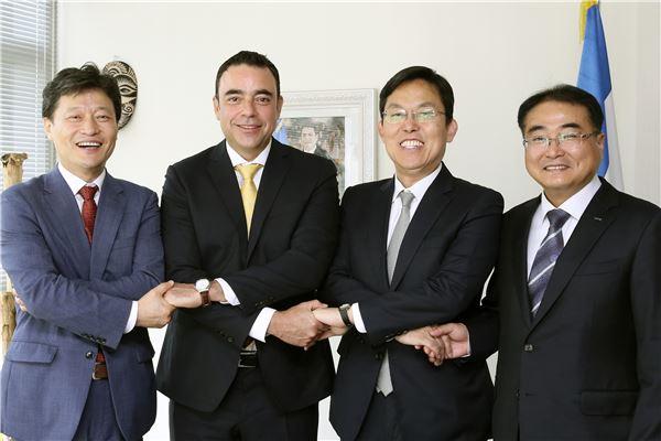 롯데 부산창조경제혁신센터, 온두라스에 '창조경제혁신센터' 수출 추진