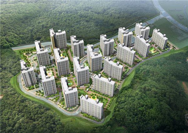 대우건설, 경기 '광주 센트럴 푸르지오' 1425세대 공급