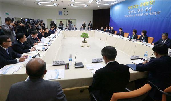 황교안 총리, 광주·전남 규제개혁점검회의 개최