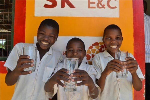 SK건설, 탄자니아서 두 번째 물탱크 기부