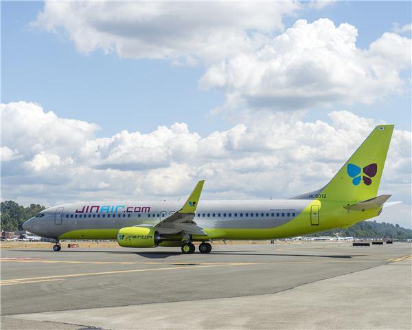 진에어, '기령 0년' 보잉 737-800 새 여객기 도입