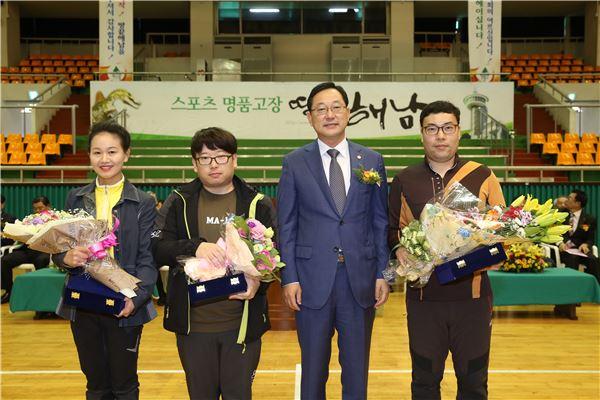 명현관 전남도의장, '전남 노인복지협회 가족한마음대회'참석
