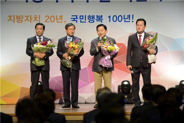 조충훈 순천시장, 제3회 '지방자치의 날' 기념행사 참석