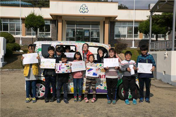 모나미, 미술교육 통한 사회공헌 활동 진행