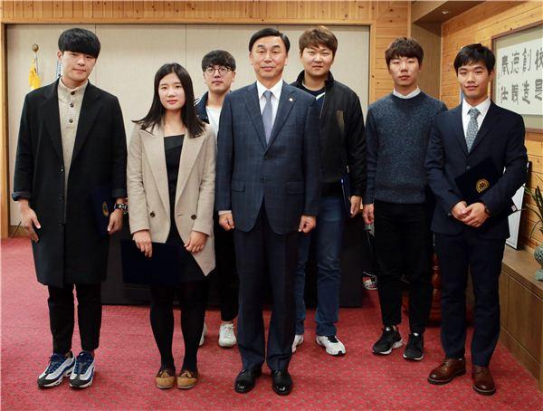 목포대, 학생독립운동기념일 특별포상 시상식 개최
