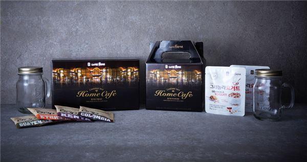 카페베네, 영양만점 그래놀라 요거트 홈카페 세트 출시