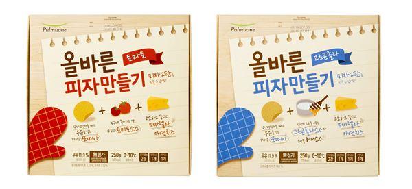 풀무원, DIY 피자세트 '올바른 피자만들기' 2종 출시