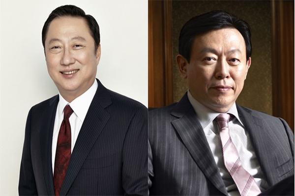 동갑내기 '박용만·신동빈' 엇갈린 운명