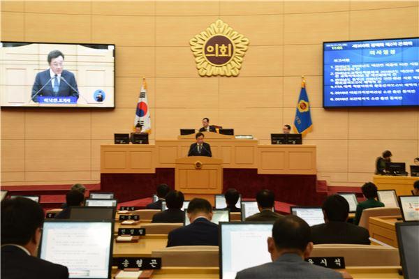 이낙연 전남지사, 19일 시정연설서 '내년도 도정 운영방향' 밝혀