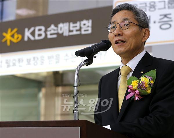 현대증권 잡은 윤종규 KB금융 회장 '그룹 숙원' 풀었다