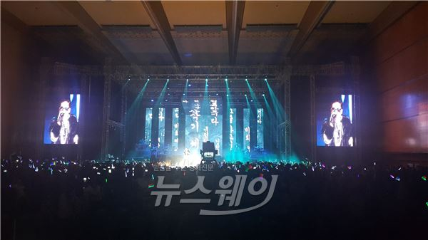 MC몽, 연말 콘서트 '몽스터2' 성료…3000여 팬들 열광했다
