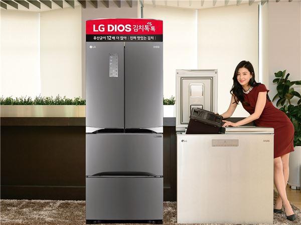 LG전자, 비수기 인기 업고 김치냉장고 신제품 출시