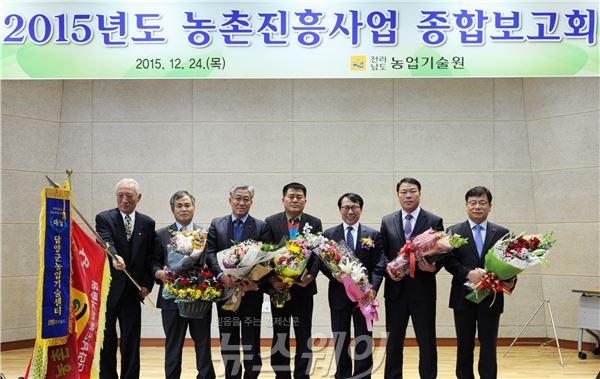 완도군, 전남농촌진흥사업 종합평가서 '우수상' 수상