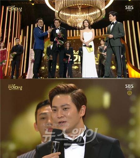 주원, 10대스타상·중국 네티즌 인기상 수상