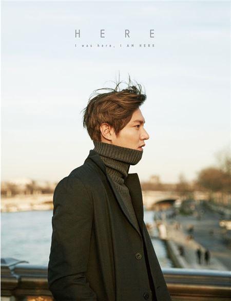 이민호, 데뷔 9주년 기념 단독 화보집 발매…청년 그리고 배우 이민호의 일상