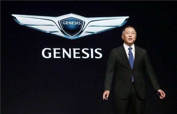 [디트로이트 모터쇼]제네시스 G90, 美 상륙..새로운 목표 향해 나갈 것
