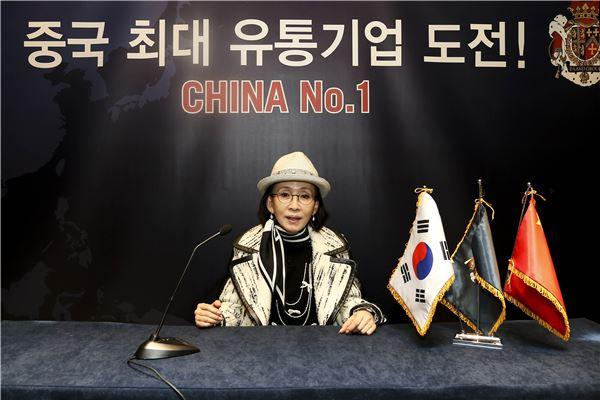 """박성경 이랜드 부회장 """"한국, 중국 사업 확장 위한 테스트마켓"""""""