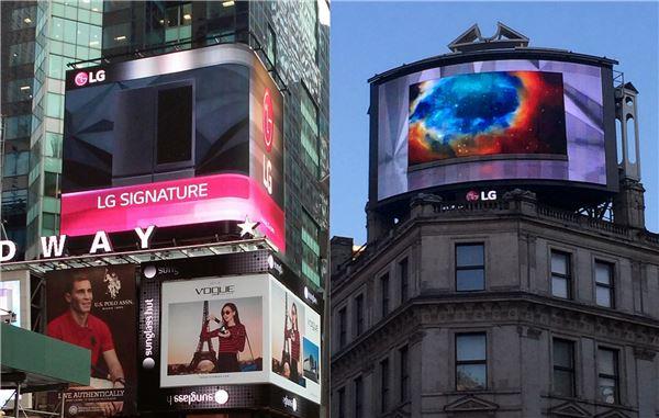 LG전자, 뉴욕·런던서 'LG시그니처' 홍보 적극 나서