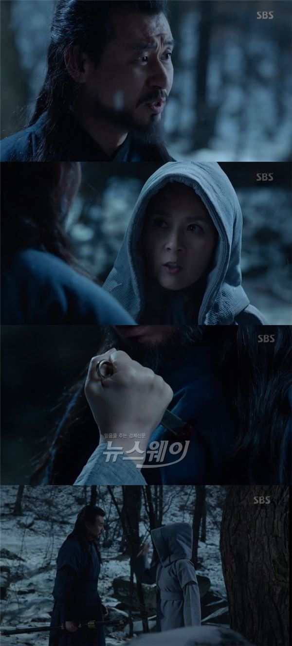 """박혁권, 전미선에 변요한 존재 알렸다…""""신세경과 가별초에 있어"""""""