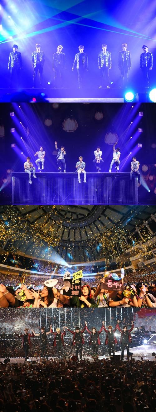 인피니트, 홍콩 콘서트 끝으로 6개월 월드투어 마무리…서울 앵콜 콘서트 개최