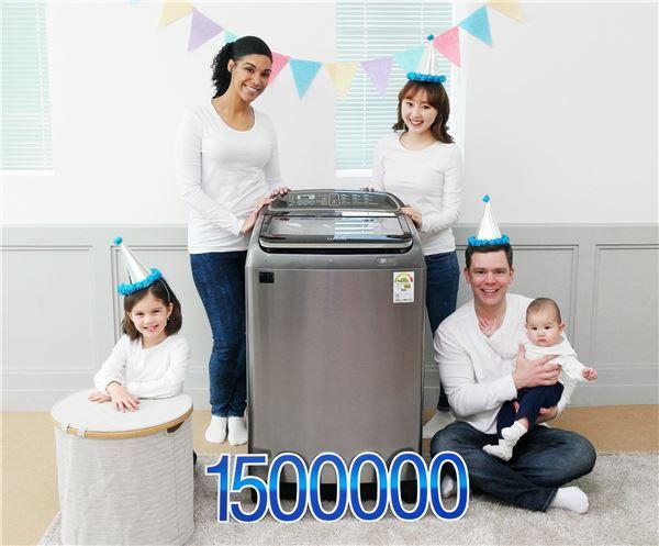 삼성 액티브워시 세탁기, 출시 1년 만에 150만대 판매