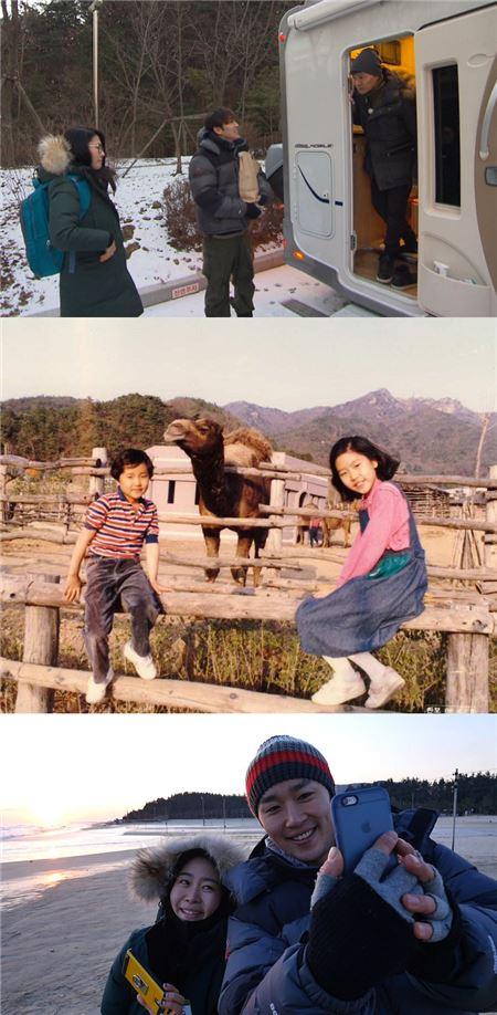 '우리는 형제입니다' 김지영, 남동생과 오붓한 여행…훈훈