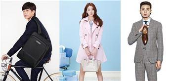패션업계, 新 한류스타 모델 교체 붐