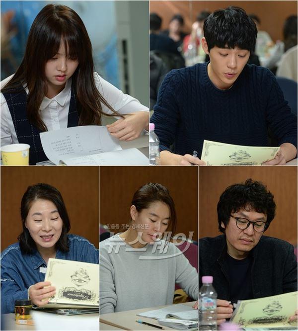 청춘★ 김소현·지수·신재하, 상큼케미 어떨까… '페이지터너' 현장공개