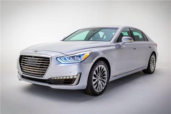 [新車전쟁]제네시스 EQ900 '세계가 반하다'