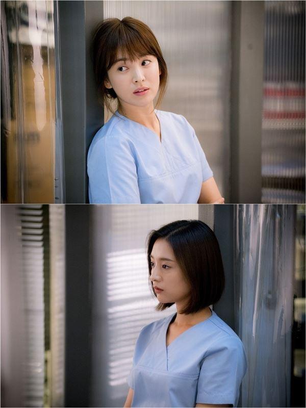 '태양의 후예' 송혜교·김지원, 女케미로 남심 저격