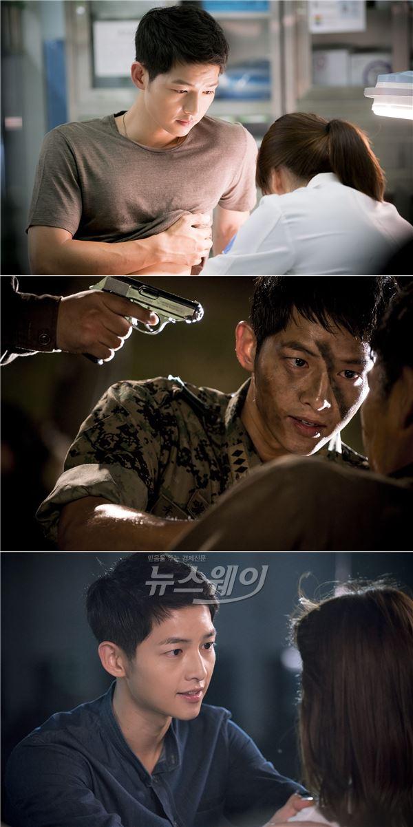 송중기, 차기 로코킹 등극 … '태양의 후예' 솜사탕 눈빛 여심저격