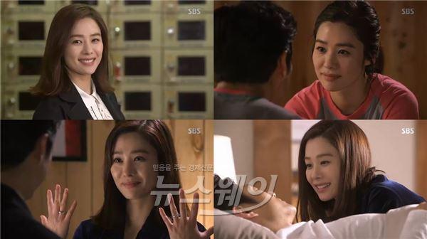 지진희·김현주, 멜로케미 역대급…'애인있어요' 사랑 결실맺고 해피엔딩