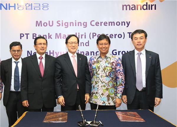 NH농협금융, 중국에 이어 인도네시아 금융시장 진출