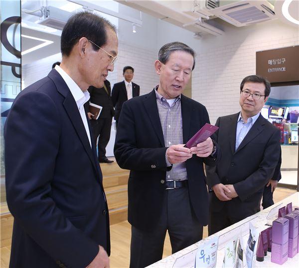 허창수 GS 회장, '전남창조경제혁신센터'서 올해 첫 현장경영