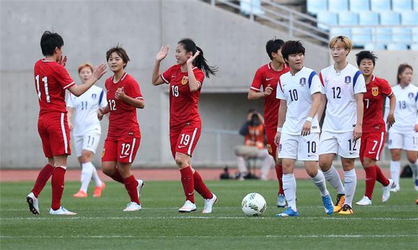 올림픽 여자축구, 리우행 좌절…0:1로 한국 패배