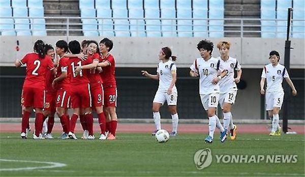 리우올림픽 한국 여자축구 종료, 중국에 0대1로 패배(종합)