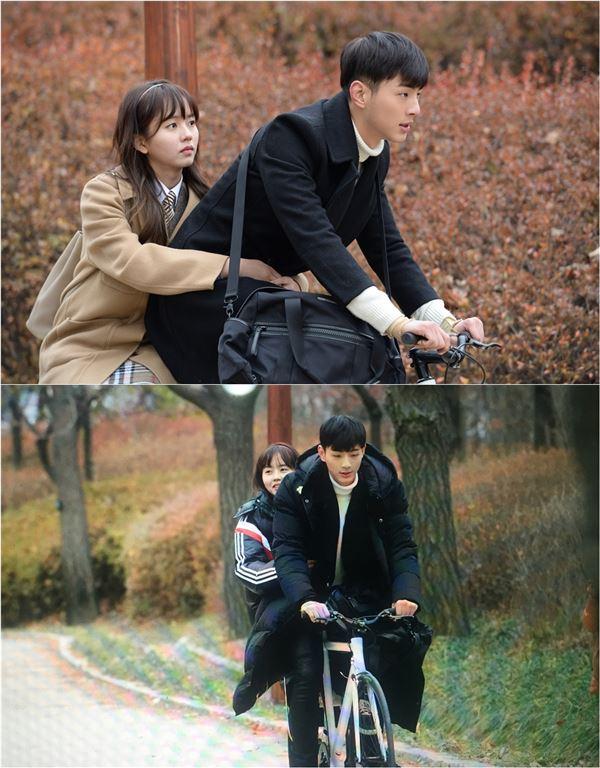 '페이지터너' 김소현♥지수, 티격태격 달콤 자전거 데이트