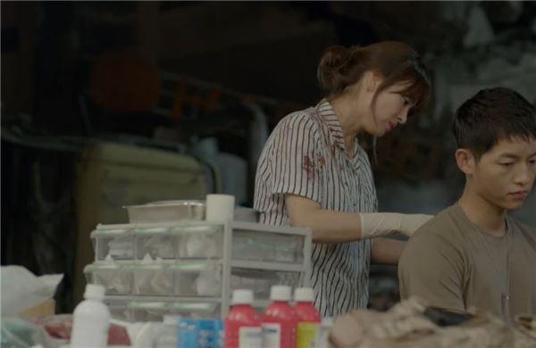 '태양의 후예', '굿미블' 등장에도 시청률 1위